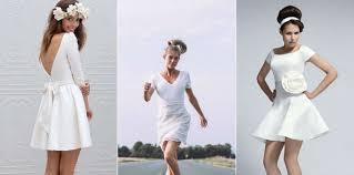 robe mariã e courte robe de mariage courte robe mariee hiver bersun