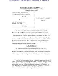 Lawsuite Lawsuit Against Charleston U0027s Tour Guide License Rule Headed For