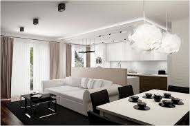 modern apartment decorating white wall paint color glass large