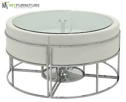 Circular Glass Dining Table And 4 Chairs Hideaway Dining Hideaway Dining Table And 4 Chairs Sethideaway