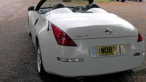 white nissan 2004 nissan 350z gt 313 roadster white 13 950 promotors co uk youtube
