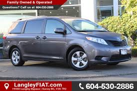 used toyota sienna for sale vancouver bc cargurus