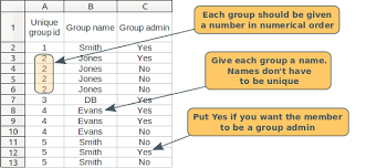 Excel Membership Database Template Webcollect And Society Membership Management Database