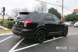 Ford Explorer Rims - ford explorer with 22in lexani css15 wheels exclusively from