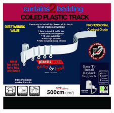 Heavy Duty Flexible Curtain Track curtains2bedding curtain track final wall u0026 ceiling fix for