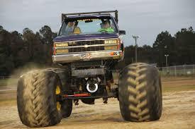 outside monster truck shows the singley saga monster truck