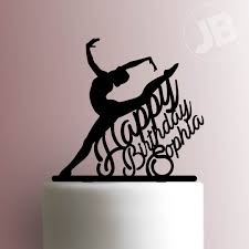 ballerina cake toppers ballerina happy birthday cake topper 101