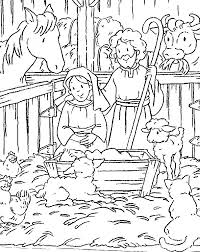 christmas coloring pages christian coloring
