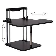 Height Adjustable Computer Desks by Online Buy Wholesale Adjustable Height Desk From China Adjustable