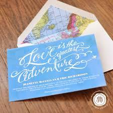 Travel Themed Wedding Margotmadison Travel Themed Wedding Invitation