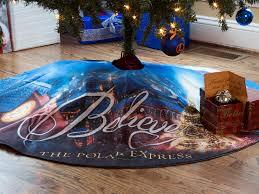 the polar express pole tree tree skirt