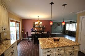 pleasing rustic kitchen pendant lights in textured wood floor
