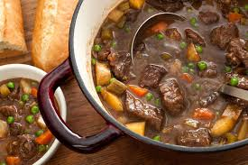easy beef stew recipe stew roasted carrots and wine sauce