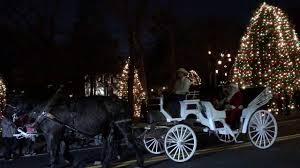mcadenville christmas lights 2017 mcadenville lights up christmas town usa youtube