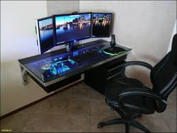 Gaming Desk Plans Diy Computer Gaming Desk Plans Home Decor Gallery Image And