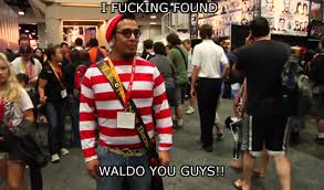 Comic Con Meme - episode 81 find waldo at comic con three angry nerds