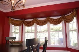 Kitchen Bay Window Ideas Window Treatments For Short Windows Tall Window Wall With Short