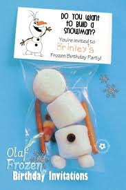olaf frozen invitations onecreativemommy com