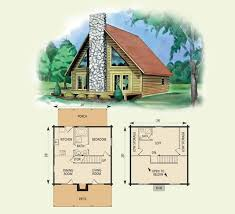 small cabin floor plans with loft collection small cabin plan pictures home interior and landscaping