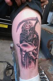grim reaper tattoos meaning creativefan