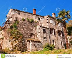 old rundown mediterranean house royalty free stock photo image