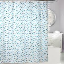 Shower Curtain Contemporary Buy Contemporary Blue Fabric Shower Curtain From Bed Bath U0026 Beyond