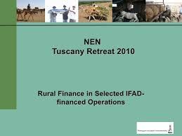Rural Finance In Selected Ifad Financed Operations Dr Rural Finance In Selected Ifad Financed Operations Dr Omer Zafar An