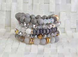stackable bracelets athens erimish stackable bracelet set jewelry
