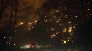 Bc Wildfire Management Facebook by Everything Is On Fire U0027 Dramatic Video Shows Escape From Tennessee