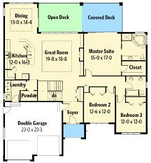 Walkout Basement Plans Spacious Hillside Home With Walkout Basement 67702mg
