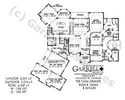 casa grande house plan house plans by garrell associates inc
