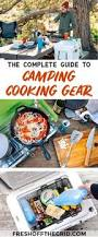 Camping Kitchen Setup Ideas by 25 Unique Camping Cooking Equipment Ideas On Pinterest Summer