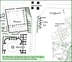 floor plan of mosque the danish jordanian islamic jarash project u2013 university of copenhagen