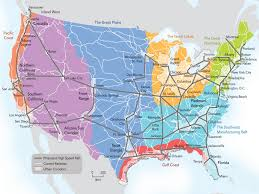 Amtrak Route Map Usa by Passenger Rail Urbanelijk America 2050 Publishes Map Of Future
