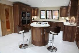 L Shaped Kitchen Designs With Island Pictures by Exquisite Kidney Bean Shaped Island And L Shaped Kitchen Layout