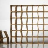 karre design modular wooden bookcase honeycomb design by karre design