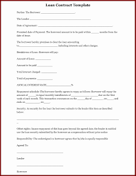 family loan agreement template uk sample form word example of