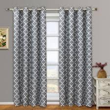 100 moroccan lattice curtain panels curtains light blue