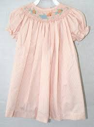 412117 a117 baby clothes smocked dresses baby