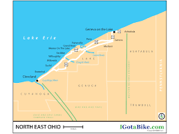 Geneva Map Connecting The Dots Cleveland To The Western Reserve Greenway Via