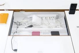 cache fil bureau le bureau cache câbles shoji