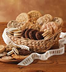 cookie gift basket birthday cookie gift basket cookies and brownies harry david