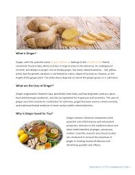 amazing health benefits of ginger backed by science authorstream