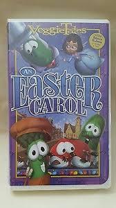 veggie tales easter new veggie tales an easter carol vhs 2004 big idea