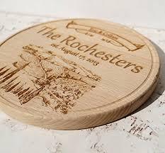 personalized photo cutting board personalized cutting board custom monogram cutting board