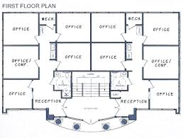 House Plans Designs Office Building Floor Plan Thraam Com
