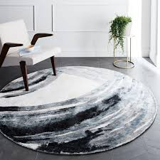 White Round Rug by Ink Round Rug West Elm Au