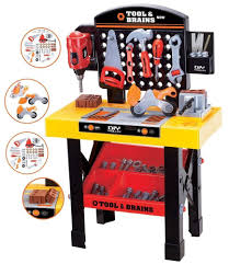 tool sets 158747 tool and brains diy trolley workbench kids work