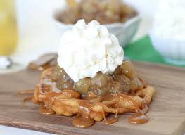 caramel apple funnel cakes confessions of a cookbook queen