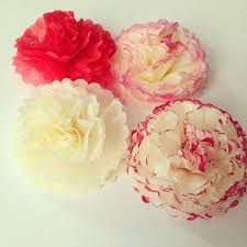 Making Of Flowers With Paper - best 25 tissue paper flowers ideas on pinterest tissue paper